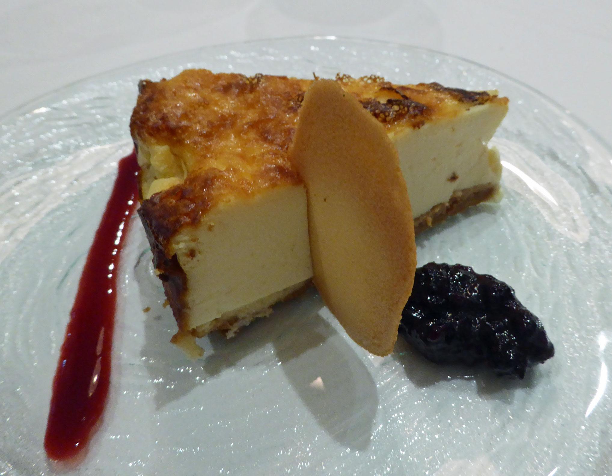 Las Redes en San Vicente de la Barquera Tarta de queso