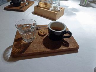 Café con agua de jengibre