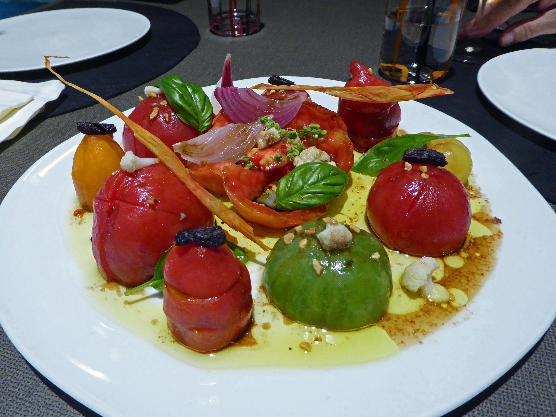 Els Casals en Sagàs Tomates variados