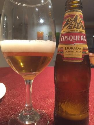 Cusqueña Dorada (Golden Lager)