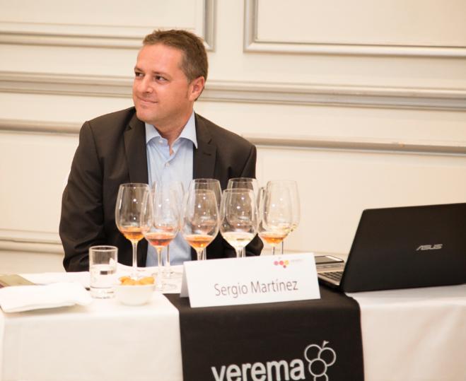 Sergio Martínez en la Cata de Lustau del Salón de Vinos Especiales de Madrid