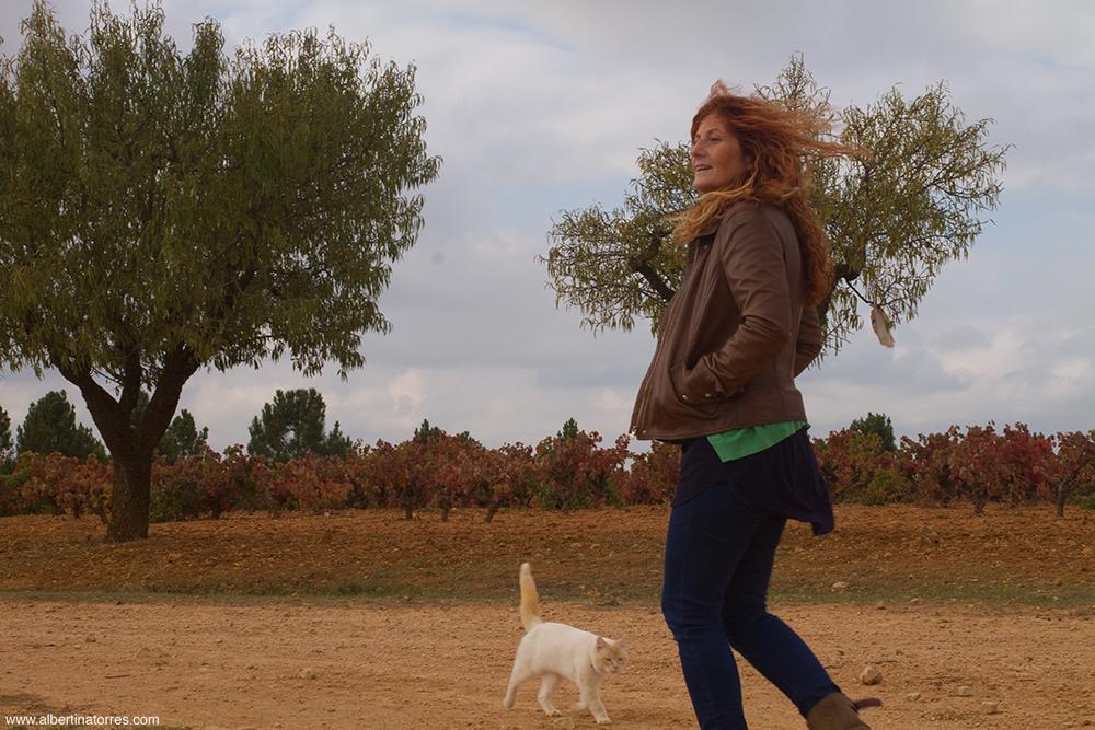 rosalia en el campo