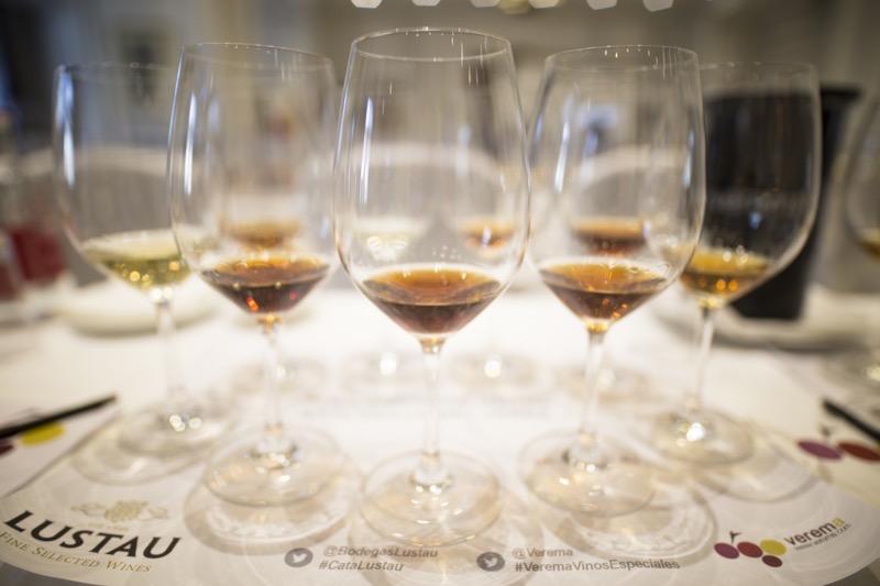 Cata Lustau Salón vinos especiales