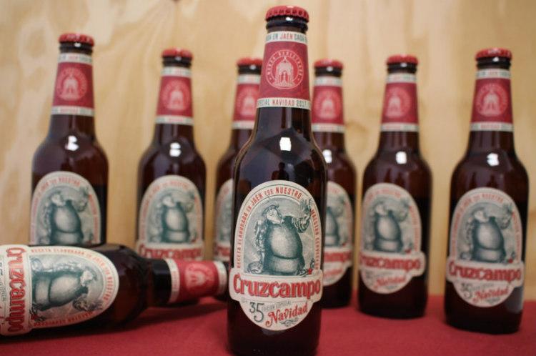 Cerveza Cruzcampo Edición Especial Navidad