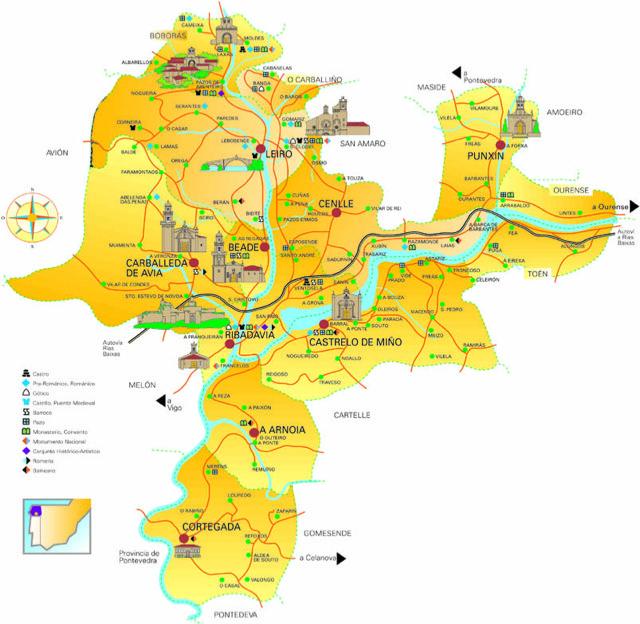 Mapa DO Ribeiro