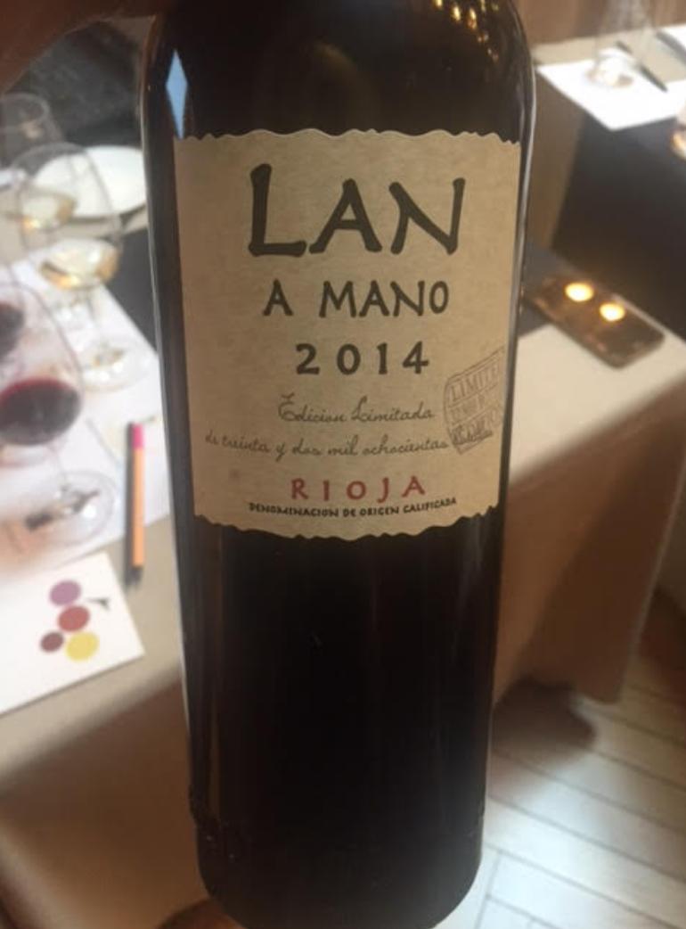Botella de LAN A Mano 2014