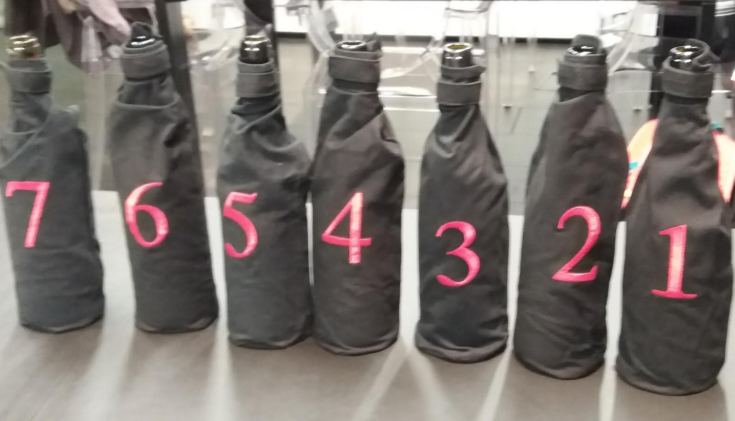 Cata a ciegas de vinos de Ribeira Sacra