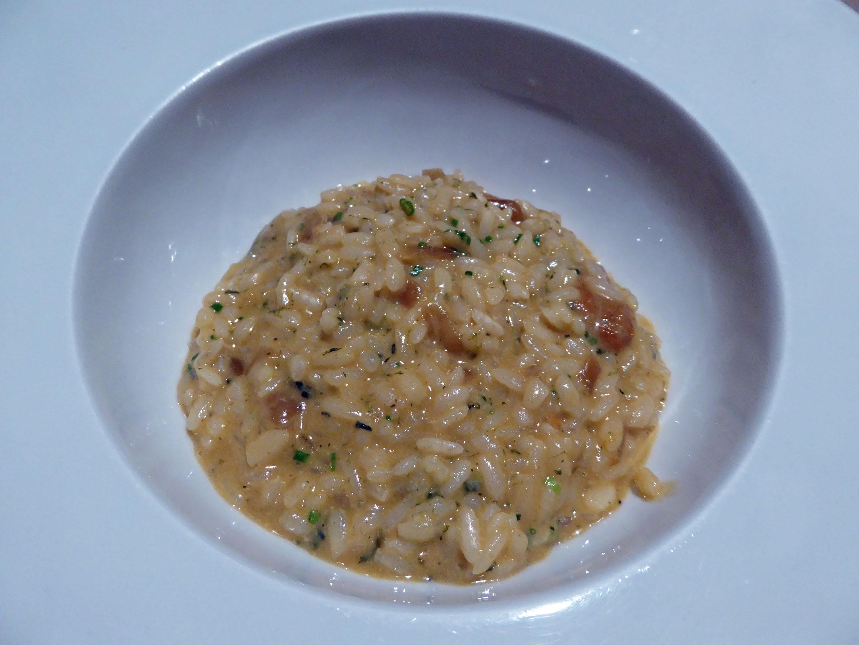 Restaurante Topik Arroz cremoso de ortiguillas de mar y erizos