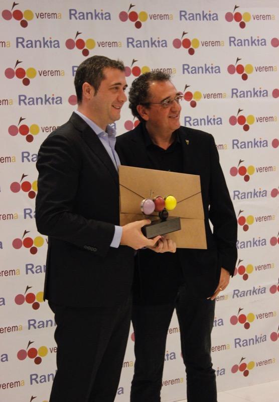 Mejor Vino Tinto español del año 2017: Viña Pomal Alto de la Caseta 2012 de Bodegas Bilbaínas.