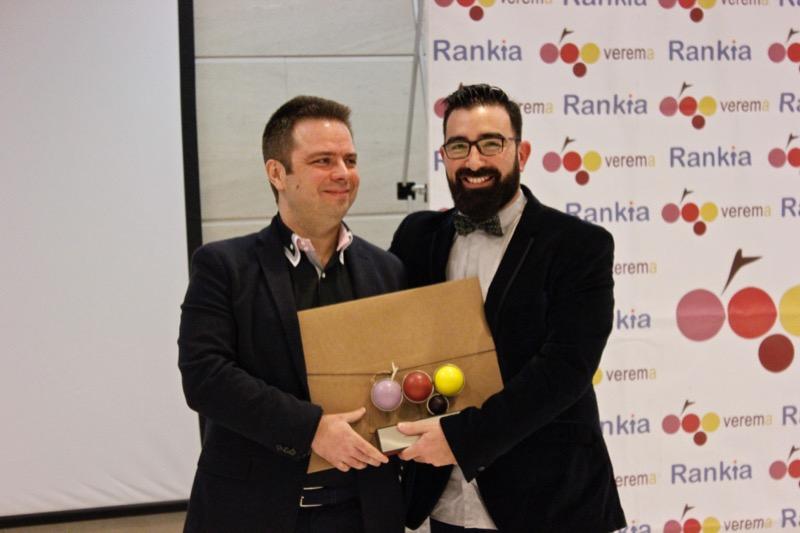 """Premio a la trayectoria en la sección """"Vinos Catados"""": Juanjo Santos"""