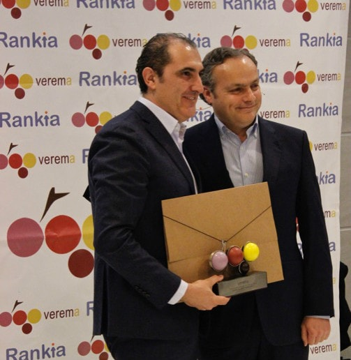 Rodolfo Bastida Premios Verema 2017