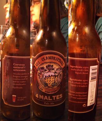 4 maltes Pale Ale