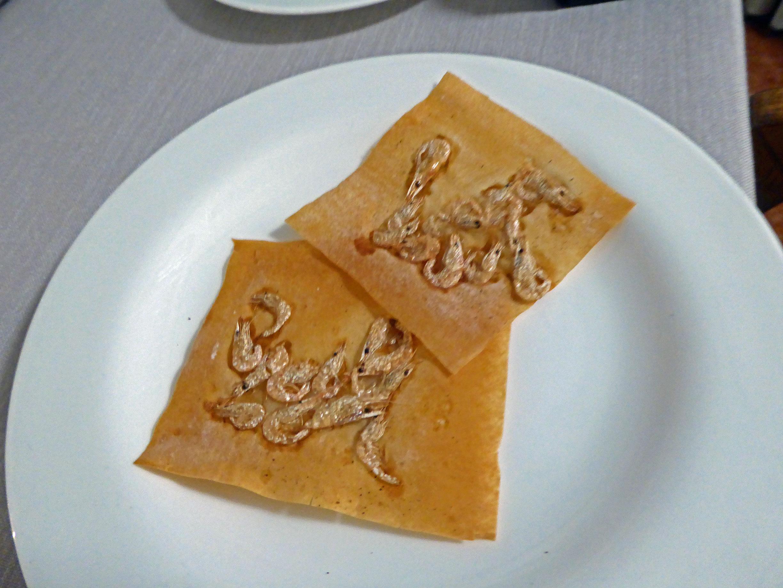 Restaurante en Figueres Aperitivo : Camarones