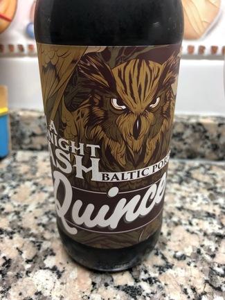 La quince evil is a midnight mash baltic porter