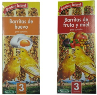 Barritas alpiste de pájaro