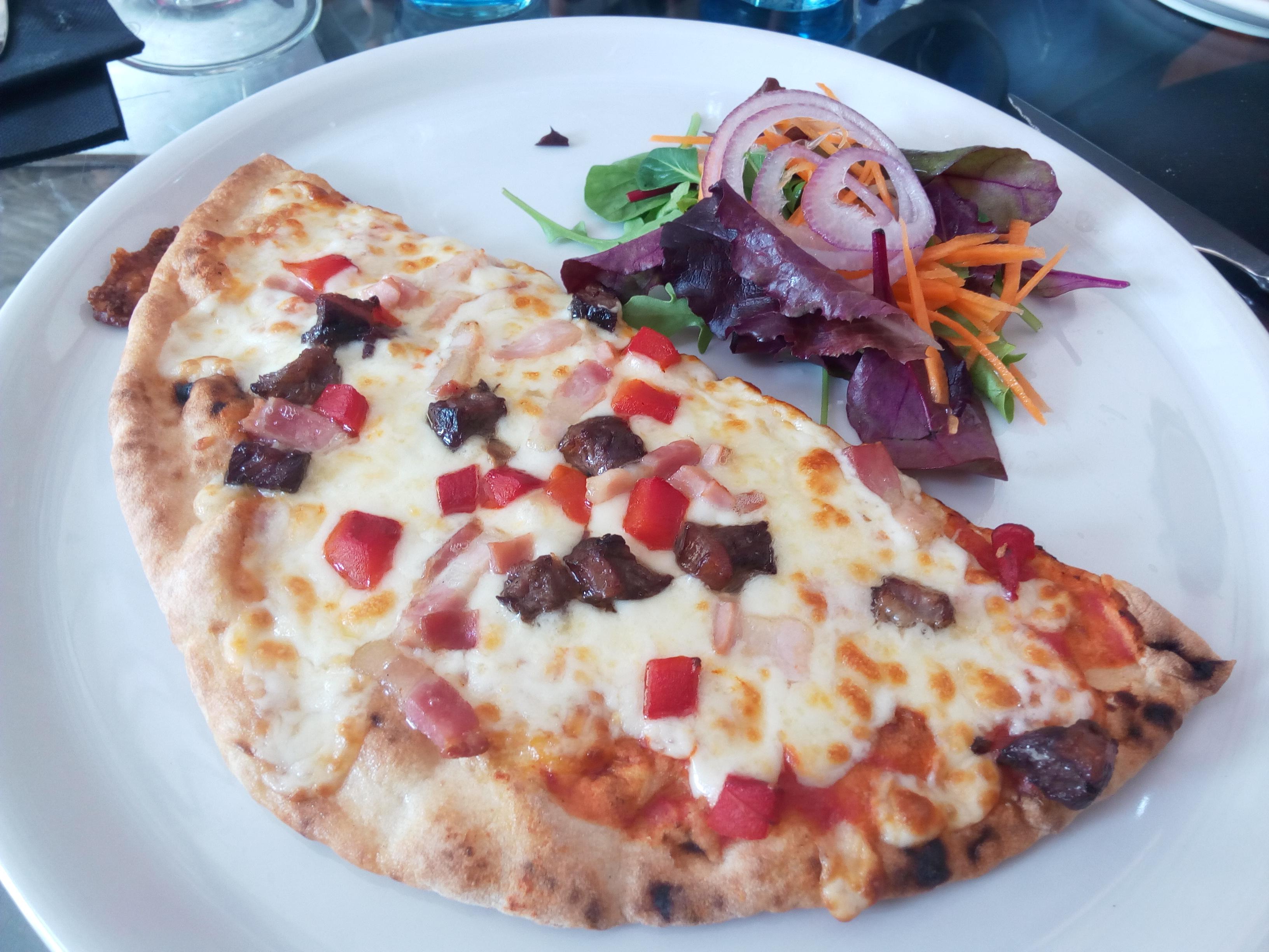 El foro en Barcelona Pizza Criolla
