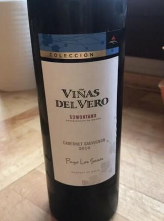 """Viñas del Vero Colección Cabernet Sauvignon Pago """"Los Sasos"""" 2016"""