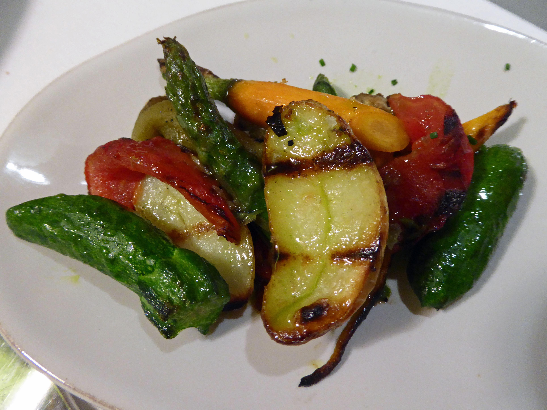Restaurante Petit Comité Verduras (detalle)