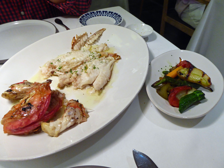 Restaurante en Barcelona Escorpora con verduras a la brasa