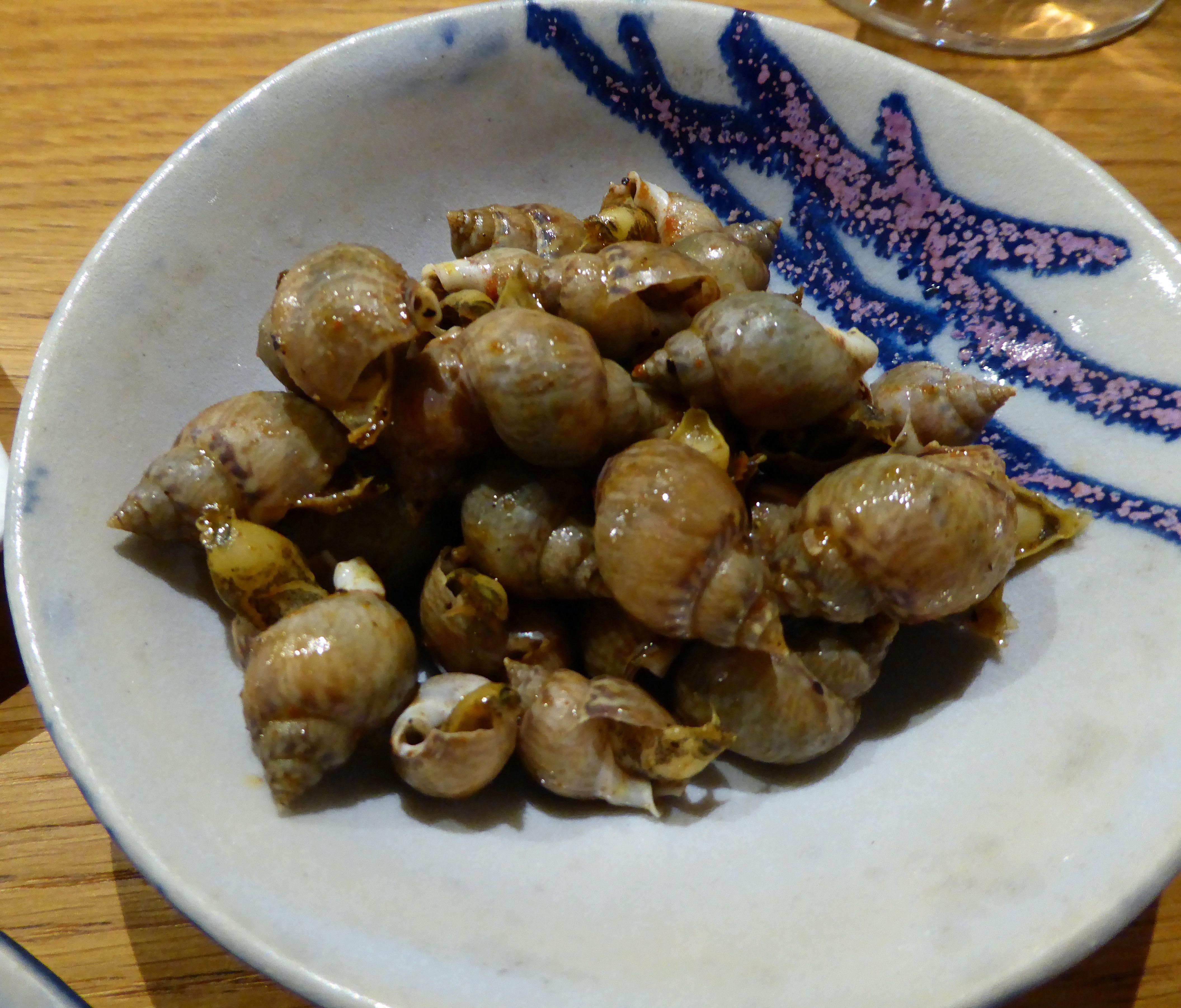 Restaurante Estimar Aperitivo : Bigaros