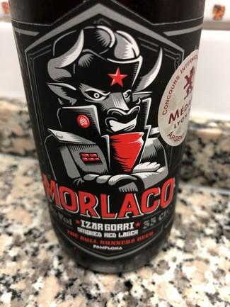 Morlaco Izar Gorri smoked red lager