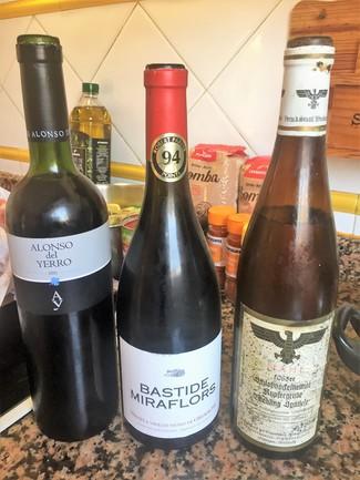 Los tres vinos
