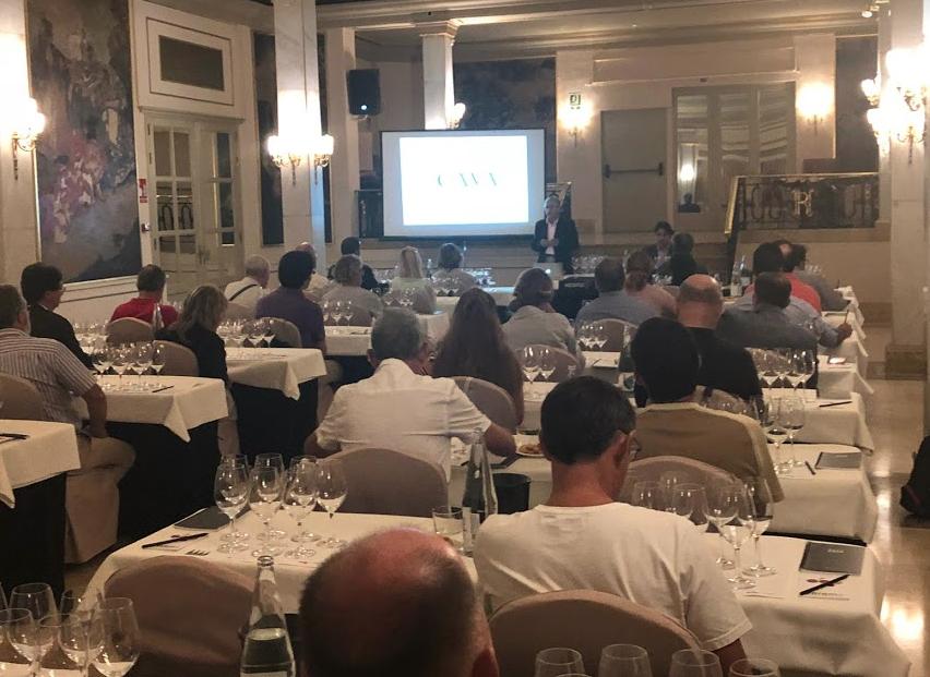 Cata comentada D.O. Cava Salón Vinos Especiales Barcelona 2018