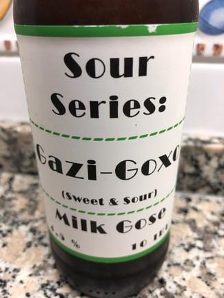 Garagart Sour Series: Gazi-Goxo Milk Gose