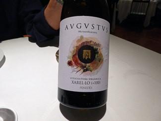 Augustus Microvinificació Xarel-lo Viticultura Orgànica +100  2016 DO Penedès
