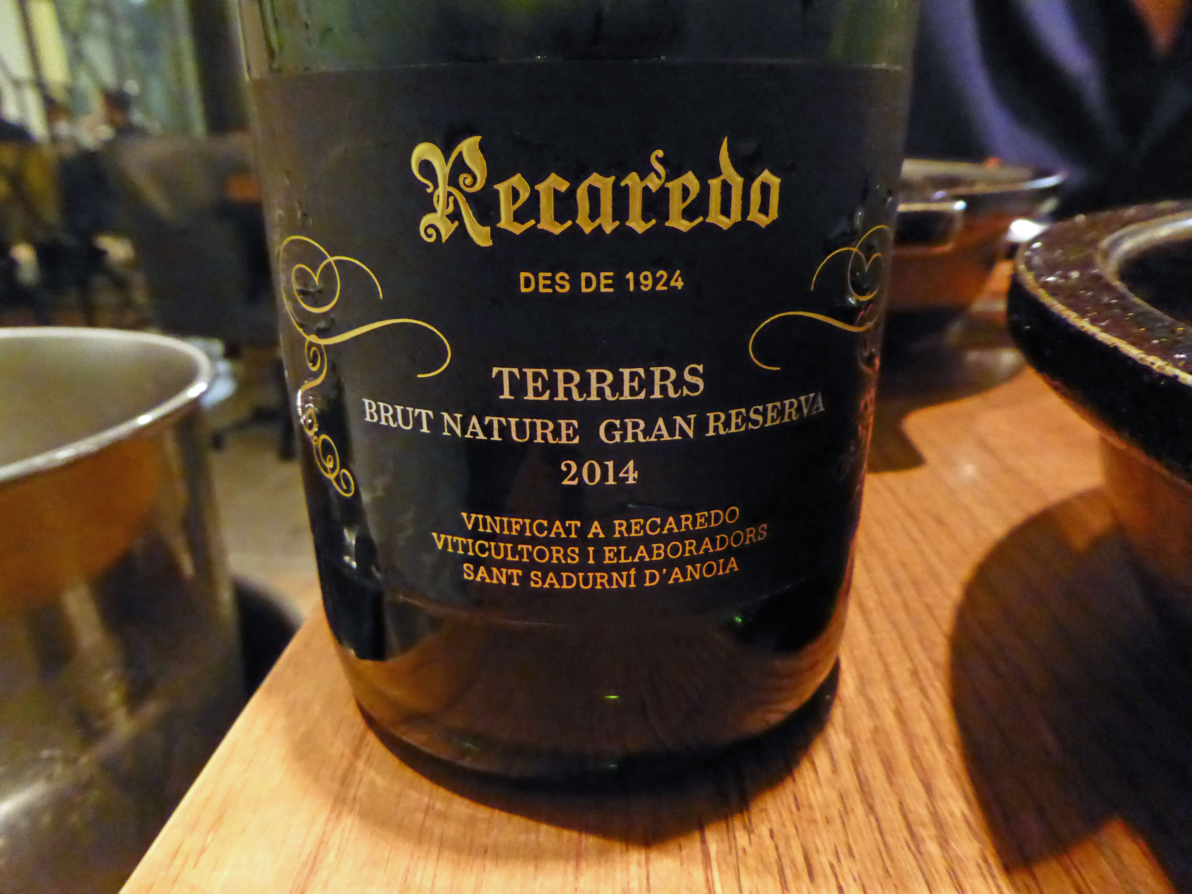 Restaurante Informal by Marc Gascons Recaredo Terrers Brut Nature Gran Reserva 2014