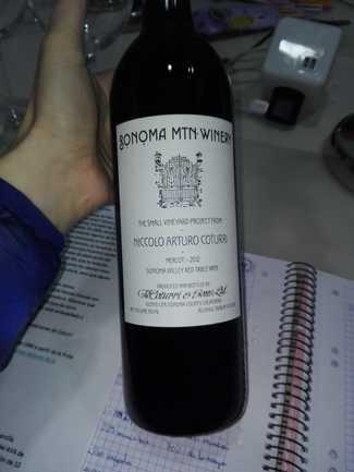 Sonoma MTN Winery - Merlot 2012