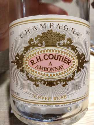 R. H. Coutier Cuvee Rose Brut