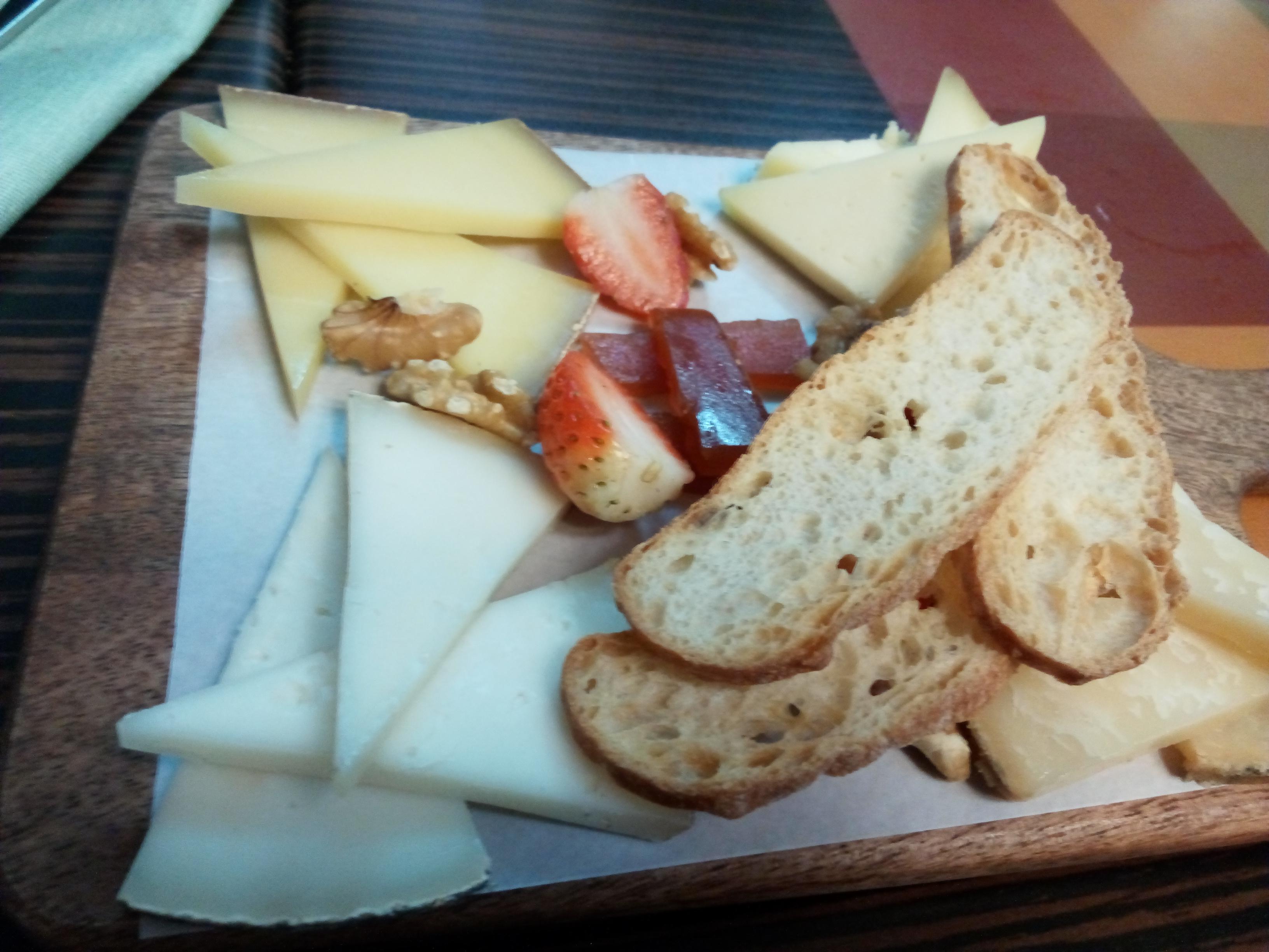Sant Marti en Barcelona Surtido de quesos