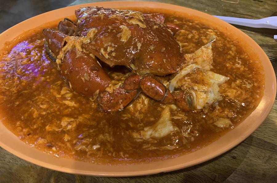 Restaurante Lau Pa Sat Chili Crab