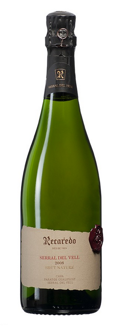 Botella de Recaredo Serral del Vell 2008 de Cava Recaredo