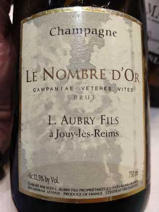 Aubry Le Nombre D' Or Brut 2012