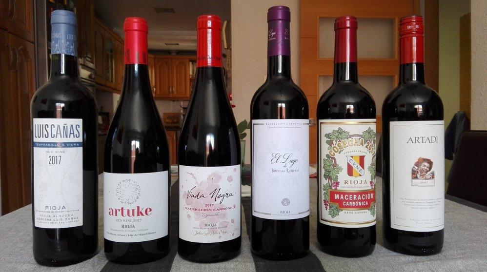 Cata De vinos de maceración carbónica del Grupdetast