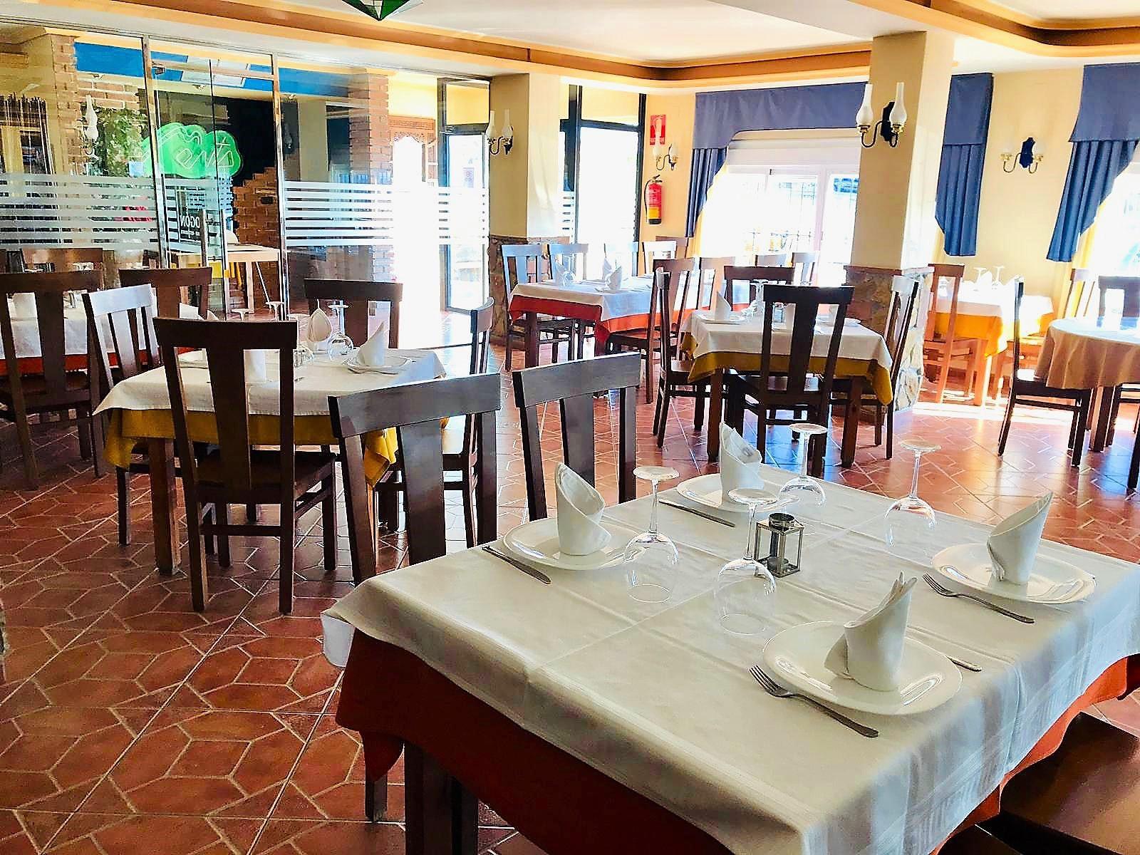 Restaurante El Fogón Sorbas Comedor