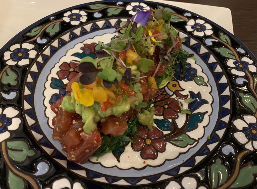 Restaurante Ayre Tartar de atún rojo con aguacate