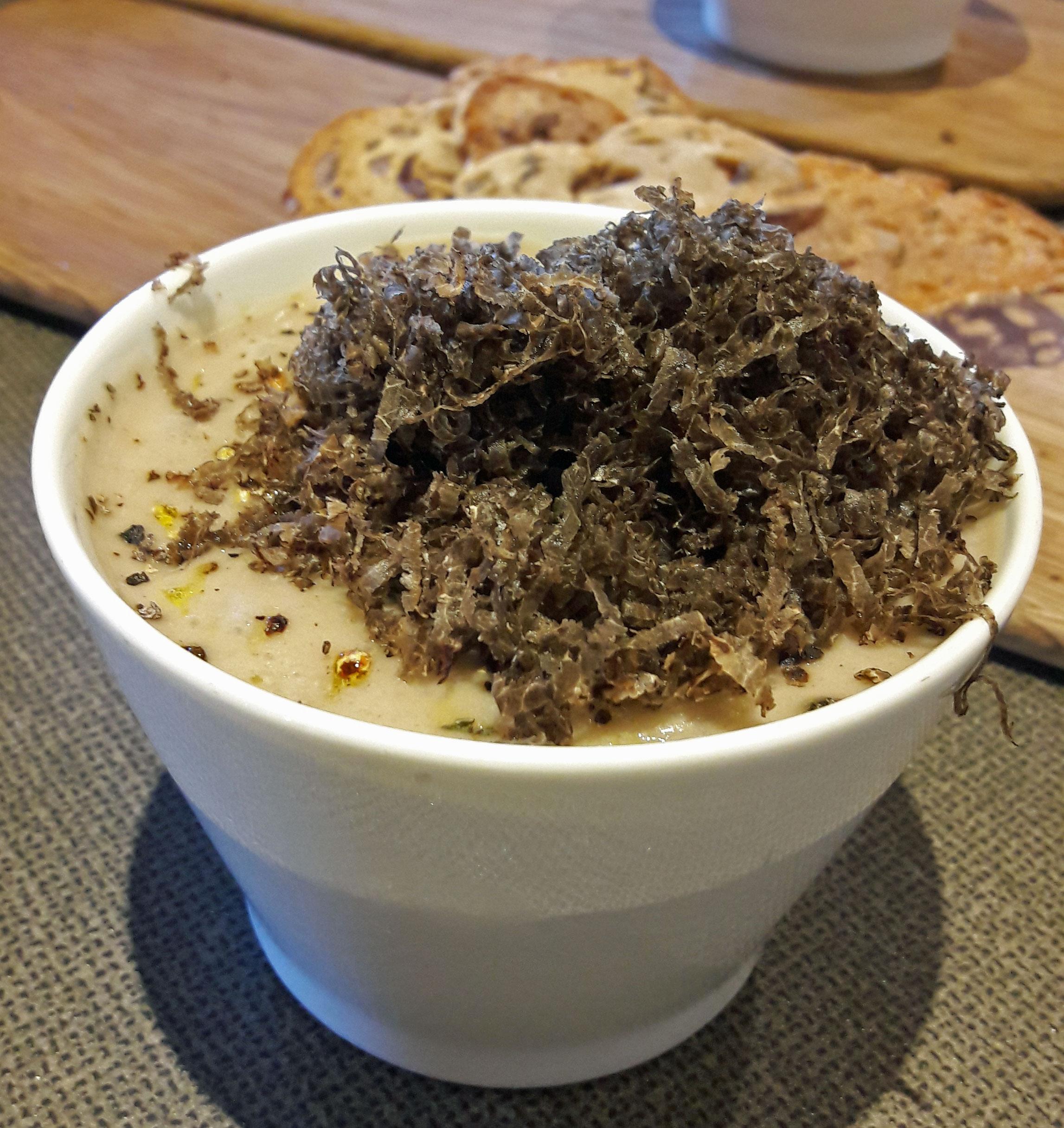 Restaurante Els Casals Terrina de ciervo con castaña y trufa tuber melanosporum