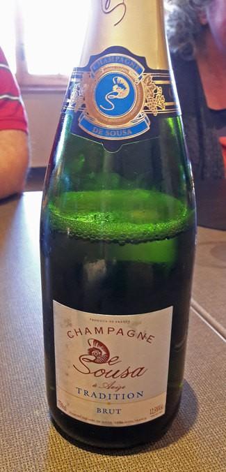Champagne De Sousa Tradition Brut Blanc AOC Champagne