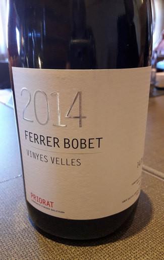 Ferrer Bobet Vinyes velles 2014 DOQ Priorat