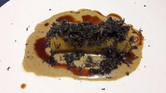 Canelón con trufa melanosporum