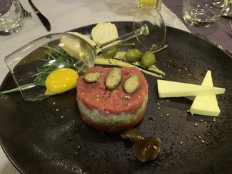 Restaurante Qrudo Food & Wine en Cracovia