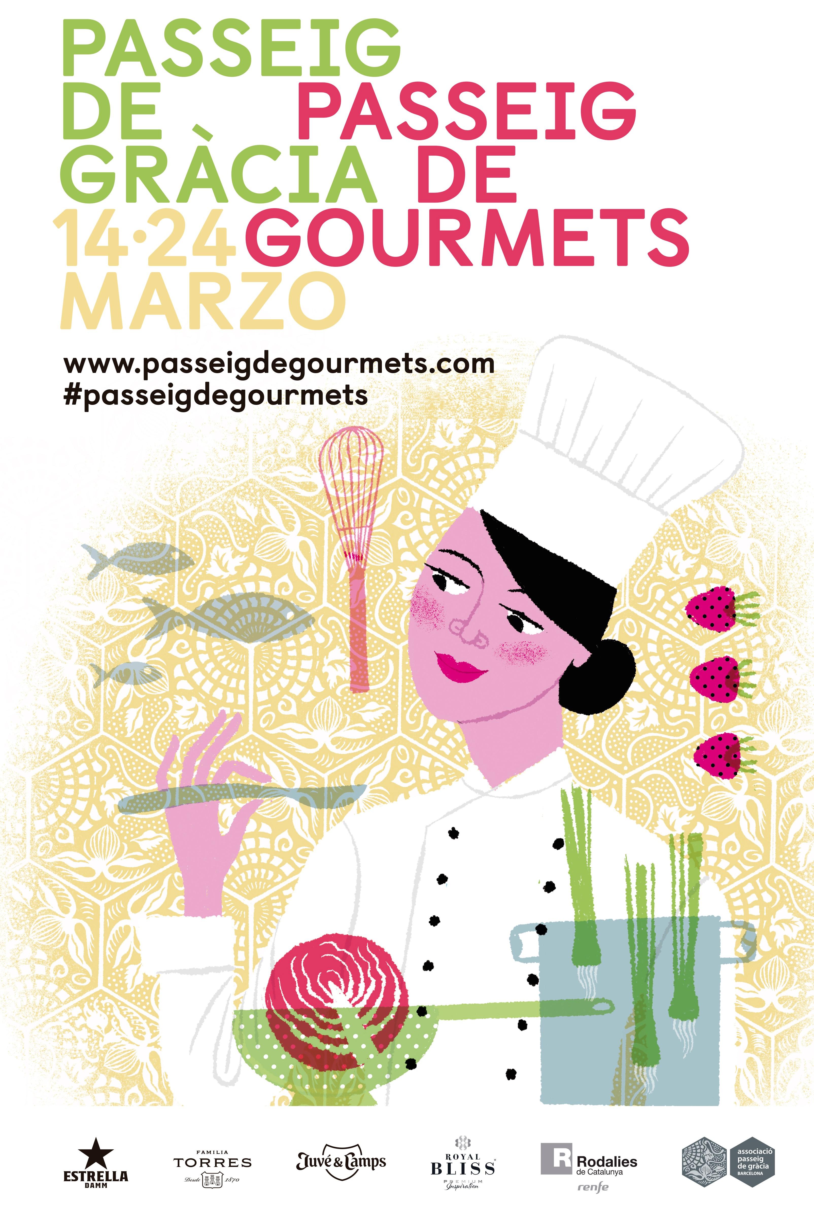 Passeig de Gourmets, el festival gastronómico del Paseo de Gracia de Barcelona