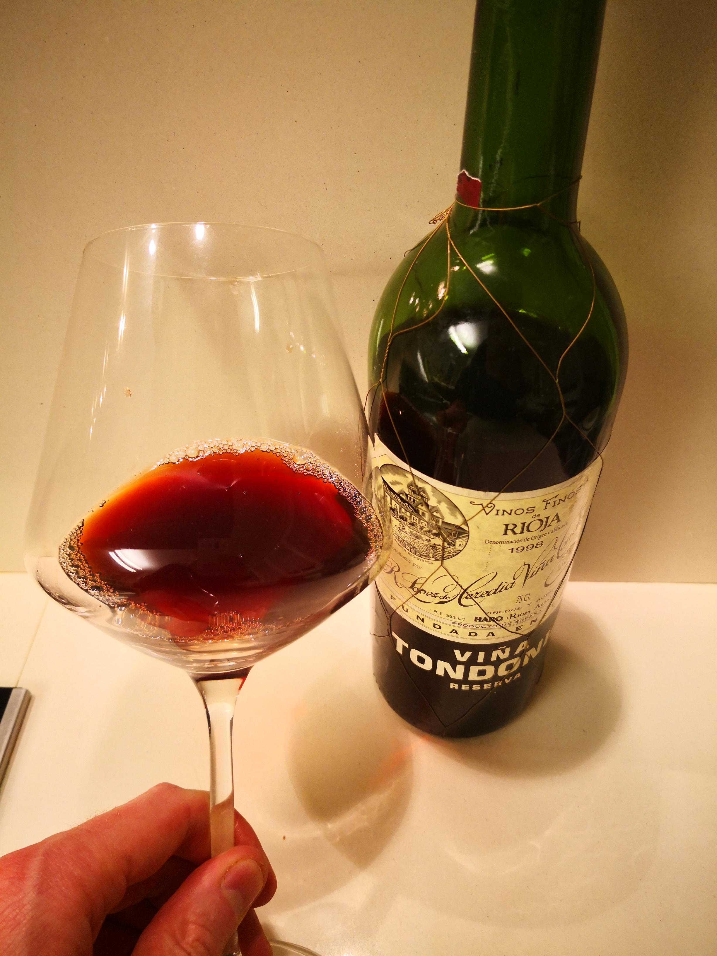 El vino que he disfrutado esta noche...