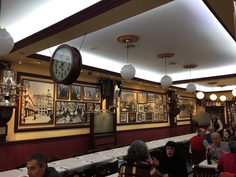 Restaurante Moderno Vista del local