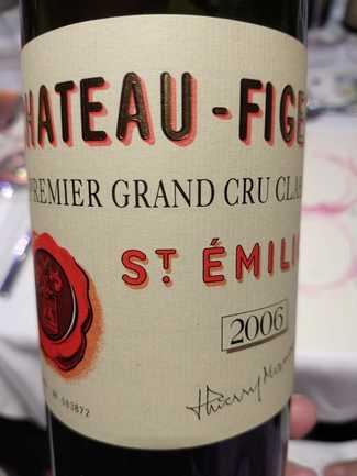 Chateau Figeac Premier Grand Cru 2006