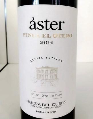 Vino Áster Finca El Otero