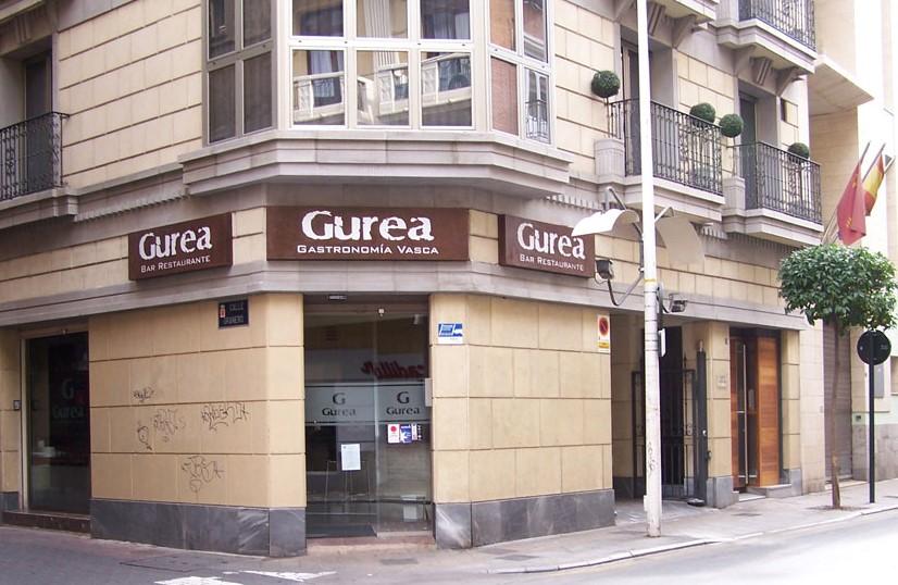 Restaurante Gurea Fachada del restaurante